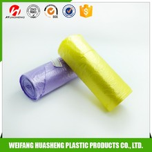 Factory made cheap print plastic garbage bags