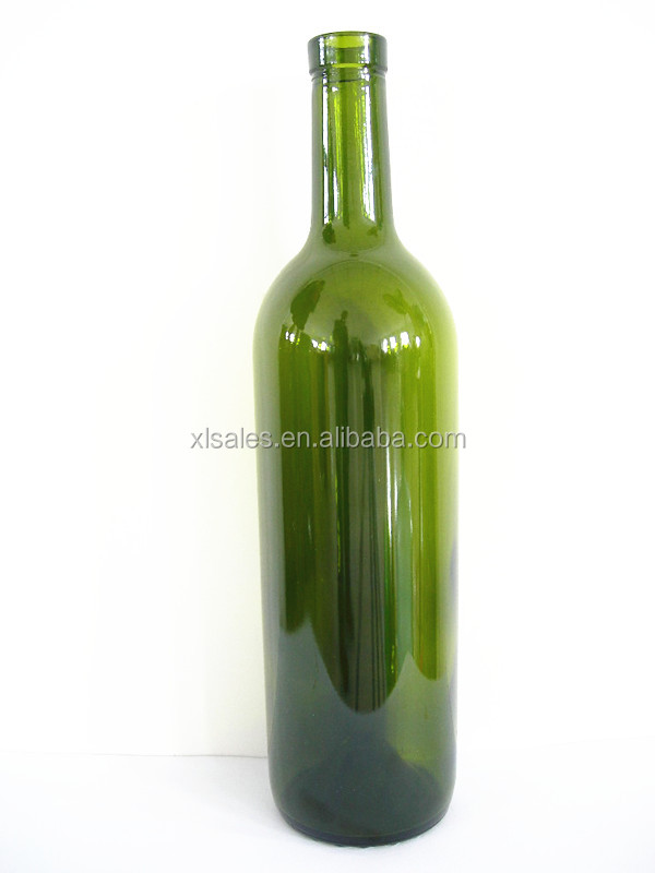 PACKAGING 750ML GLASS SPARKLING HEAVY BOTTLE FOR FRENCH RED WINE
