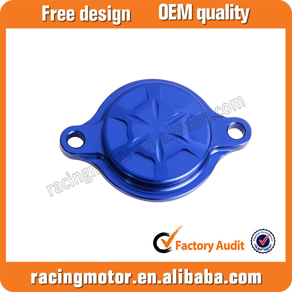 CNC Oil Filter Cover For Yamaha WR450F YZ450FX 2016 YZ250FX 2015-2016 YZ450F 2010 2011 2012 2013-2017