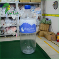 Custom PVC Inflatable Transparent Bottle for Advertising Promotion