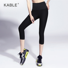 Capri Cropped Fitness Leggings Good Quality Gym Workout Wear Yoga Pants Leggings Women