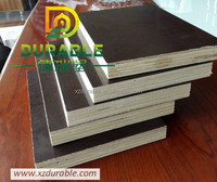 Building material 18mm film faced plywood for Oman/ thick densified film faced plywood