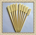 Whosale BBQ flat bamboo sticks&skewers
