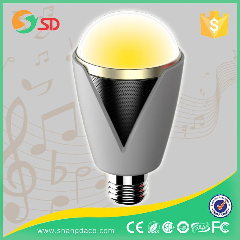 Home Party,Christmas, Stage Decoration Full Color RGB Auto 10W A60 E27 6W Rgb Led Filament Bulb