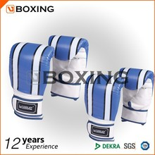 PU double color sports boxing glove