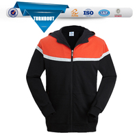 Blank high quality 3D two tone hoodies wholesale