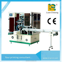 Factory price Full Automatic rotary screen printing machine for plastic bottle printing LC-VR12UV