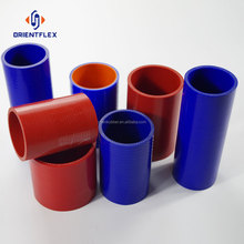 Wholesale price polyester reinforcement high / low temperature resistance turbo Straight Silicone Rubber Pipe bulk