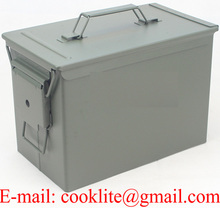 M2A1 50 Cal Metal Ammunition Can Ammo Box