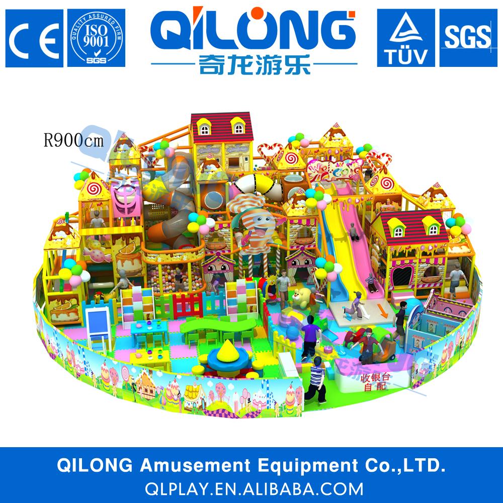 popular nios preescolar interior grandes toboganes de juegos para la venta