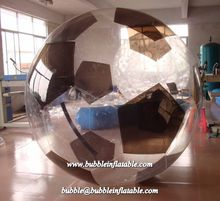 Crazy and stimulate inflatable water ball, transparent bubble ride for sale