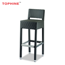 Commercial Contract TOPHINE Furniture Hot Sale Modern Kitchen Counter High Tall Bar Stools With Back