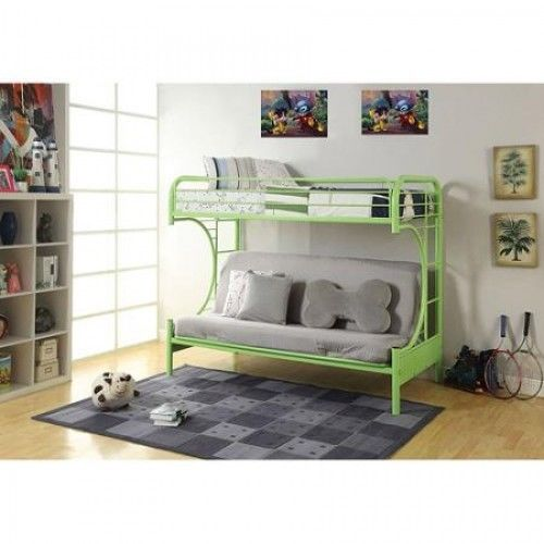 Children Metal Futon Bunk Bed Sofa Decker Bunks for Kid