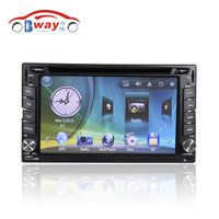 Bway 2 din car video player for Universal car dvd player 256 MB RAM with car Radio bluetooth,steering wheel