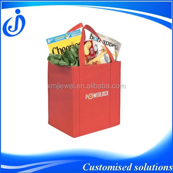 Small Order Quantity Promotional Non Woven Grocery Bag