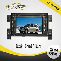 china factory OEM ODM hd dvd for suzuki grand vitara car dvd gps navigation system