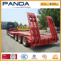 Top Sale 3 Axles Low Bed
