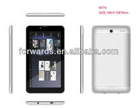 7inch Tablet pc MD700 MTK6577 Dual core 1GHz Support 3g GPS Dual Cameras 1024*600 Tablet pc
