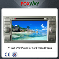 7Inch hd digital touch screen 2din transit car dvd player with car gps navigation/vcd/cd/ipod/usb/sd