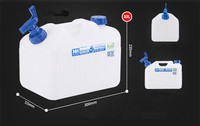 100L Water Transfer Tank Plastic For Cars And Trucks
