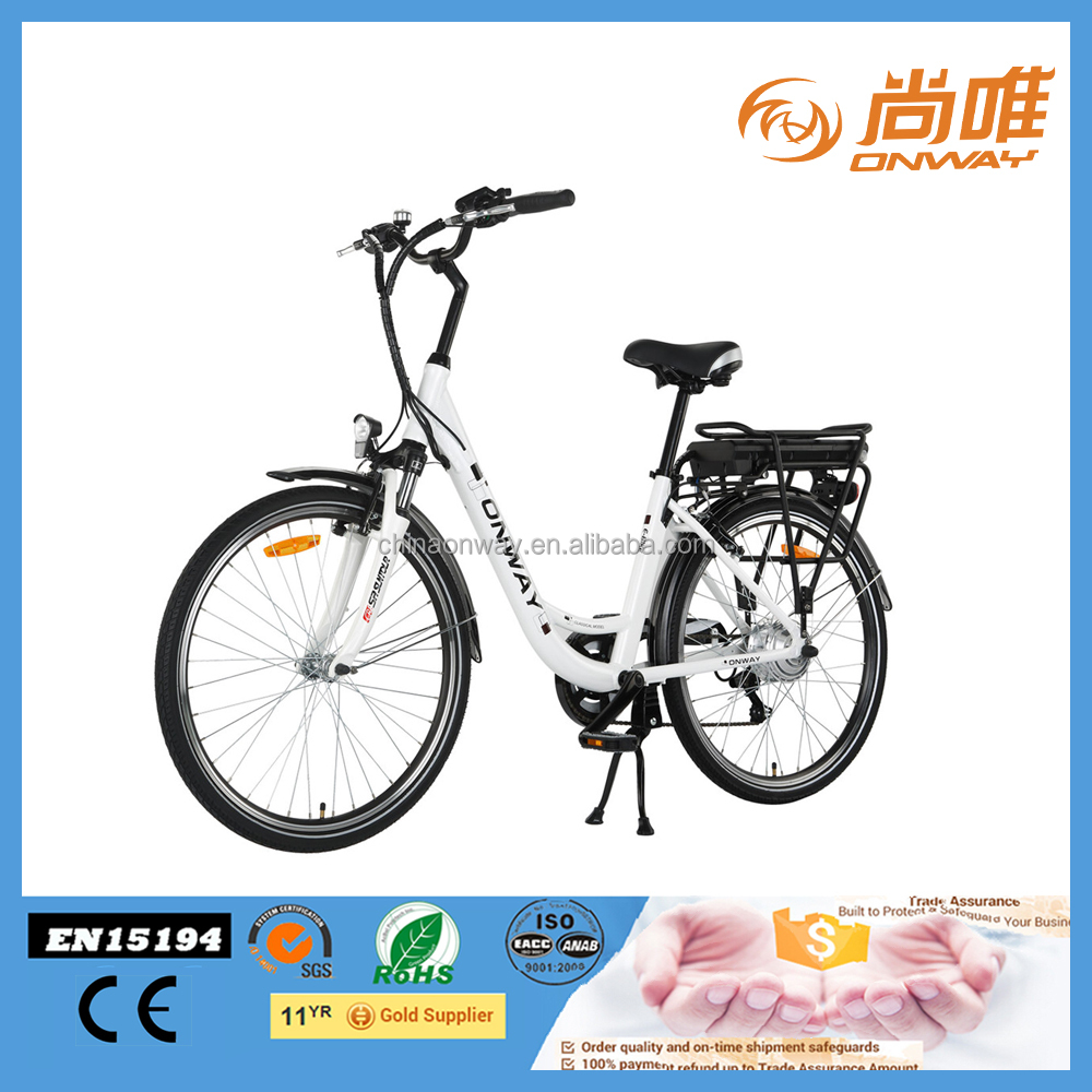 26'' pedelec electric bicycle with strong torque EU certificate