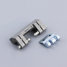 China Professional screws round plastic tube connector weld on pipe peg hinges