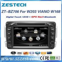 ZESTECH auto car accessories for Mercedes Benz W203 car camera/bluetooth drive/car MP3 player