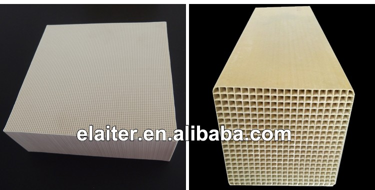 Honeycomb ceramic catalyst monolith, Cordierite honeycomb ceramic catalyst substrate/carrier/support