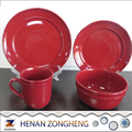 Stocked walmart AB grade 16pieces dinnerware sets to Europe