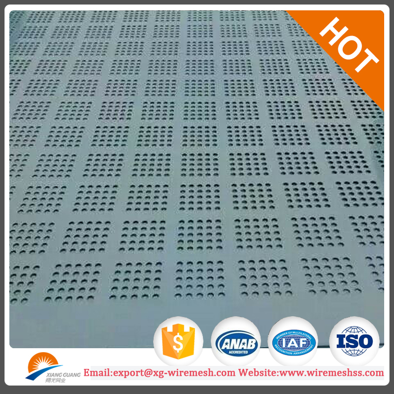color paint coated aluminum perforated sheets