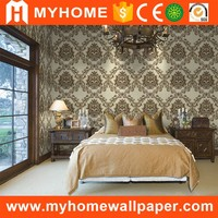 Modern Home Interior Washable PVC Wallpaper For Bathroom