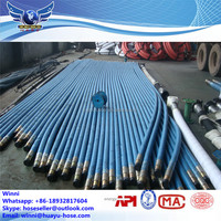 API 7K High Pressure Steel Wired Rubber Rotary Drilling Hose \ Rock Petroleum Drill Hose