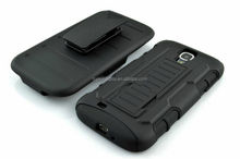Silicone+PC Hybrid Cellphone Hard Back Cover Case For Samsung Galaxy S4