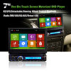 In-dash car dvd 1din DVD/MP3/CD GPS Bluetooth AM/FM receiver with 7 inch touch screen