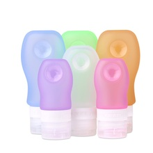 China Factory Wholesale Custom Reusable Waterproof Silicone Bottle Containers