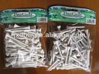 High Quality Factory Wholesale Wood Golf Tees