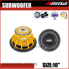 "10"" inch best car powered speaker subwoofer"
