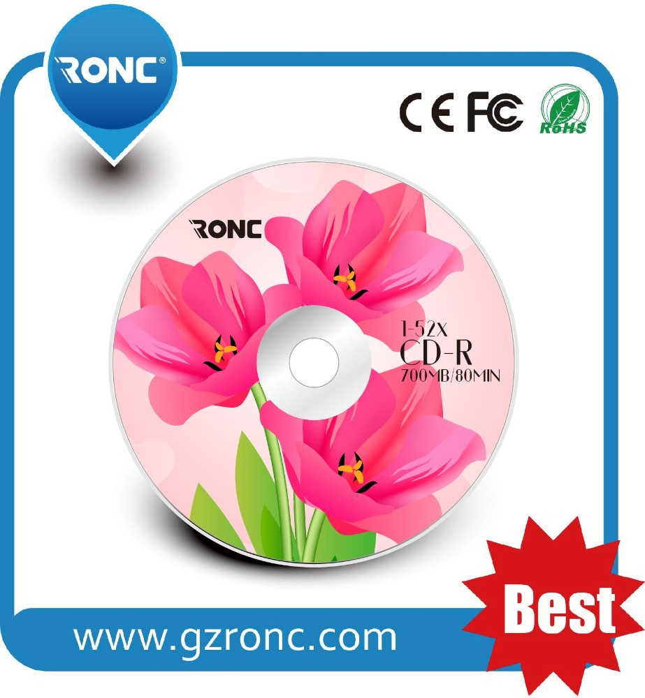 Best price high quality free sample wholesale blank CD-R