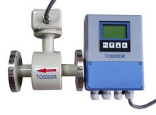 teflon liner flowmeter for water chemical mining industry