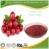 Natural Organic Cranberry Extract powder Anthocyanidin Cranberry Fruit P.E