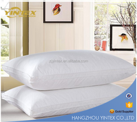 Healthy Comfort Standard Classic White Duck Down Feather Gusset Pillow