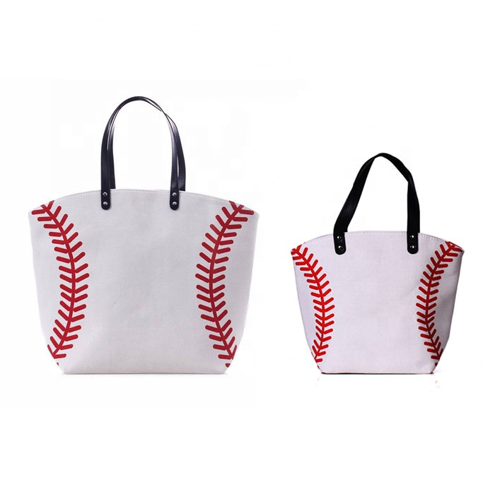 Wholesale Sports Prints Utility <strong>Totes</strong> Top Handle Baseball <strong>Totes</strong>