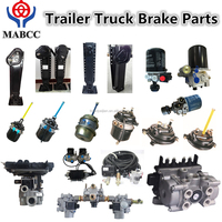 3 axles trailer parts and truck brake parts/brake chamber/trailer parts/TS16949 in China