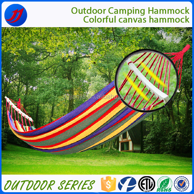 Various colors double canvas swing garden hammock chair