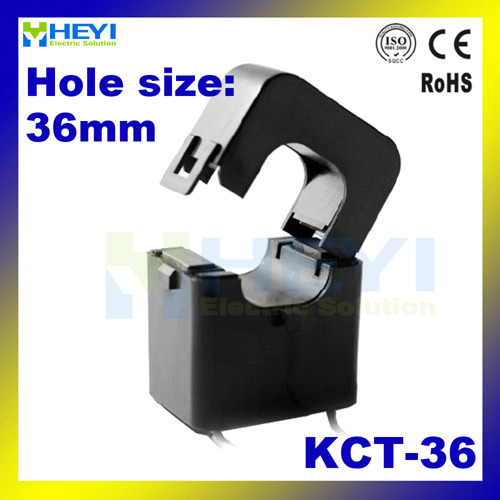 HEYI split core current transformer KCT-36 for single phase meter low voltage CT