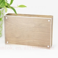 "4x6 ""/ 7x5""/ 8x6""/ A4 /A5/ A6 Acrylic Wood Photo Frame for Christmas Gifts, Wedding Gifts"