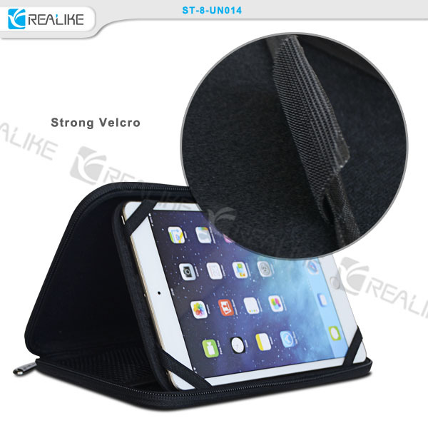2015 leather tablet travel zipper case for ipad mini
