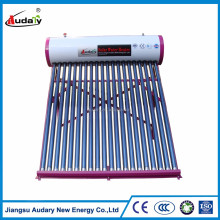 Galvanized sheet Integrative solar energy water heater providing warm or hot water