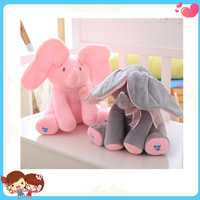 Custom Electric Singing Shy Singing Elephant