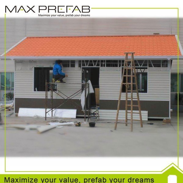 High Quality Economical Prefabricated A-Frame House Kit